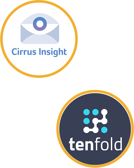 cirrus insight and tenfold Sugati CRM partners