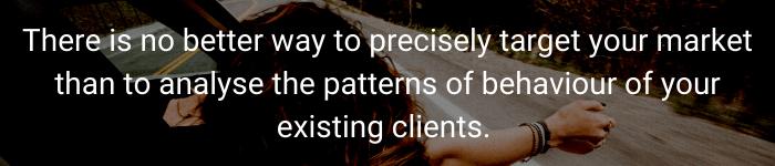 analyse existing clients